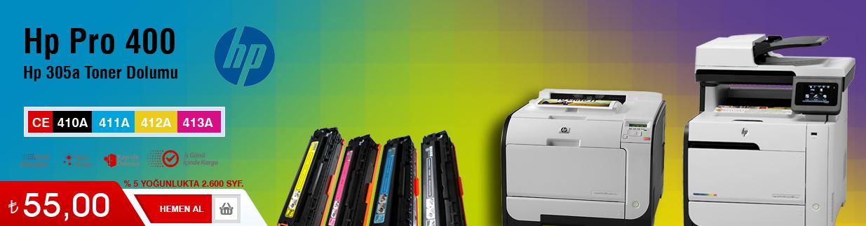 HP 305A Toner Dolumu - HP CE410A çekmeköy, fiyatı