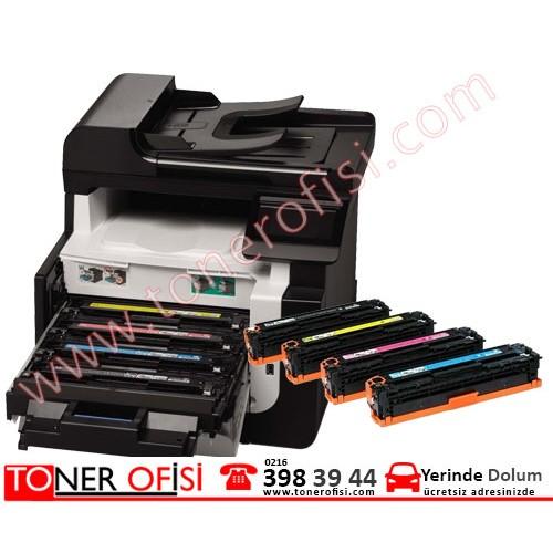 HP 128A  Toner Dolumu - HP CE320A