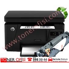 HP LaserJet Pro MFP M125a Toner Dolumu - HP 83A Toner - (CF283A)