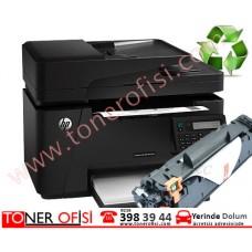 HP LaserJet Pro MFP M127a Toner Dolumu - HP 83A Toner - (CF283A)