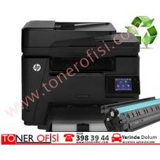 HP LaserJet Pro MFP M225dn Toner Dolumu - HP 83A - CF283A